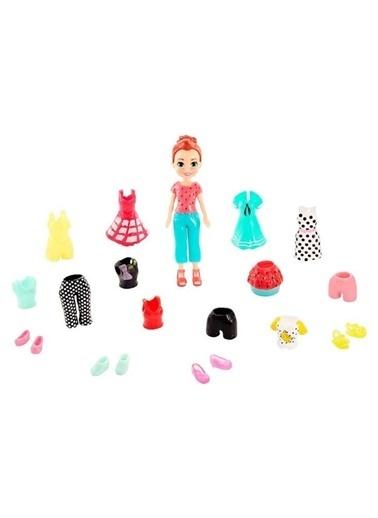 Polly Pocket ve Kıyafetleri Oyun Seti GFT97-GKV13 Renkli